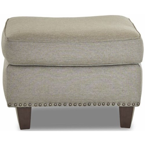 Klaussner Emory Transitional Ottoman