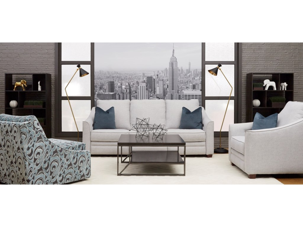 Klaussner EnsleyPower Reclining Living Room Group