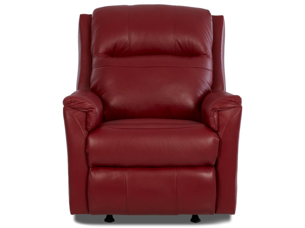 Klaussner EvansPower Recliner with Power Headrest