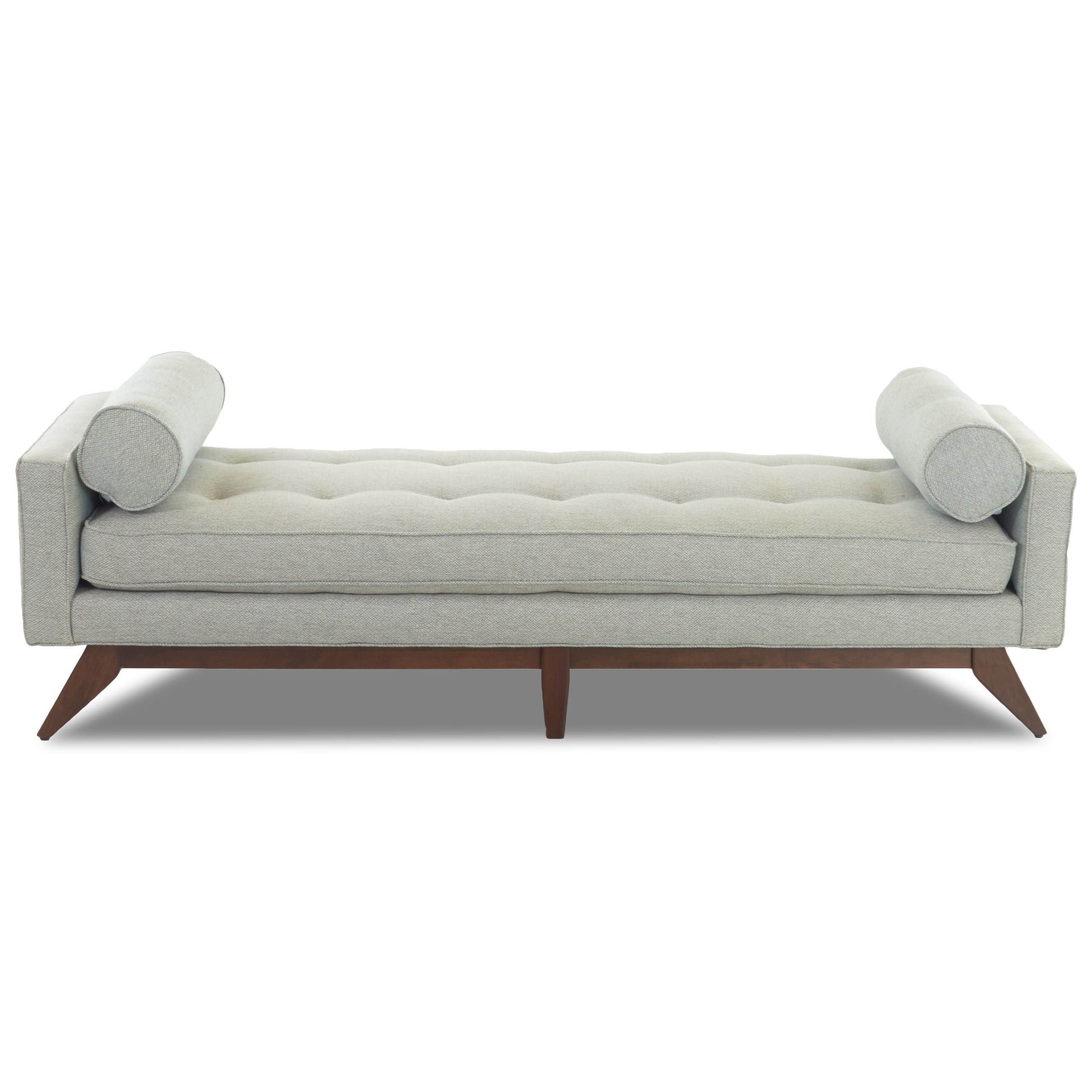 Klaussner Fairfax Mid Century Modern Backless Sofa/Bench | Sheelyu0027s  Furniture U0026 Appliance | Upholstered Benches