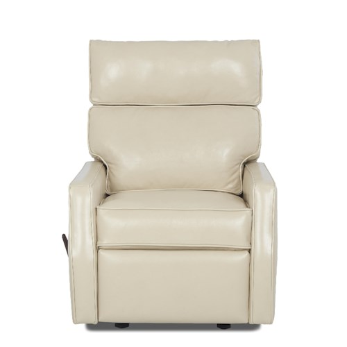 Klaussner Fairlane Contemporary Swivel Gliding Reclining Chair