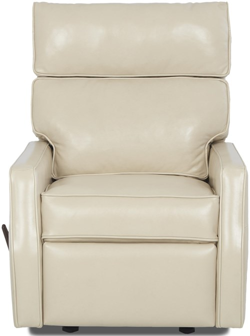 Klaussner Fairlane Contemporary Gliding Reclining Chair