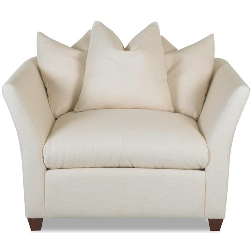 Klaussner Fifi Stationary Cushioned Chair