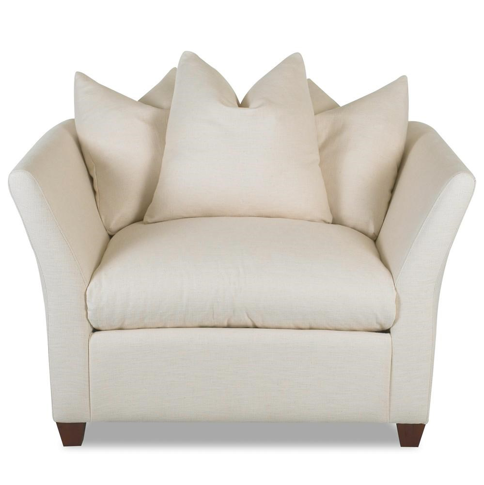 Superieur Klaussner FifiDown Blend Cushion Chair ...