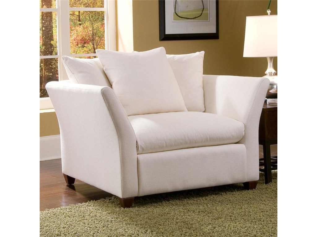 Klaussner FifiDown Blend Cushion Chair