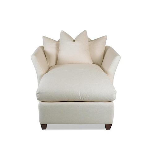 Klaussner Fifi Down Blend Cushion Chaise