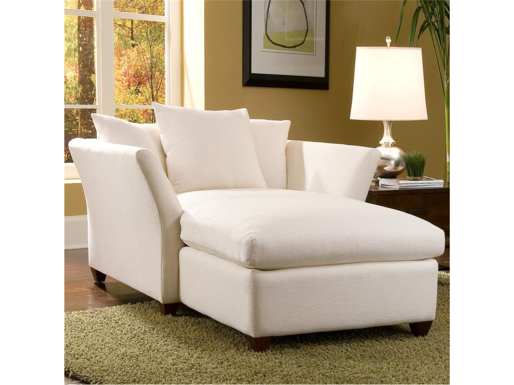 Klaussner FifiDown Blend Cushion Chaise