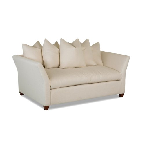 Klaussner Fifi Down Blend Cushion Love Seat
