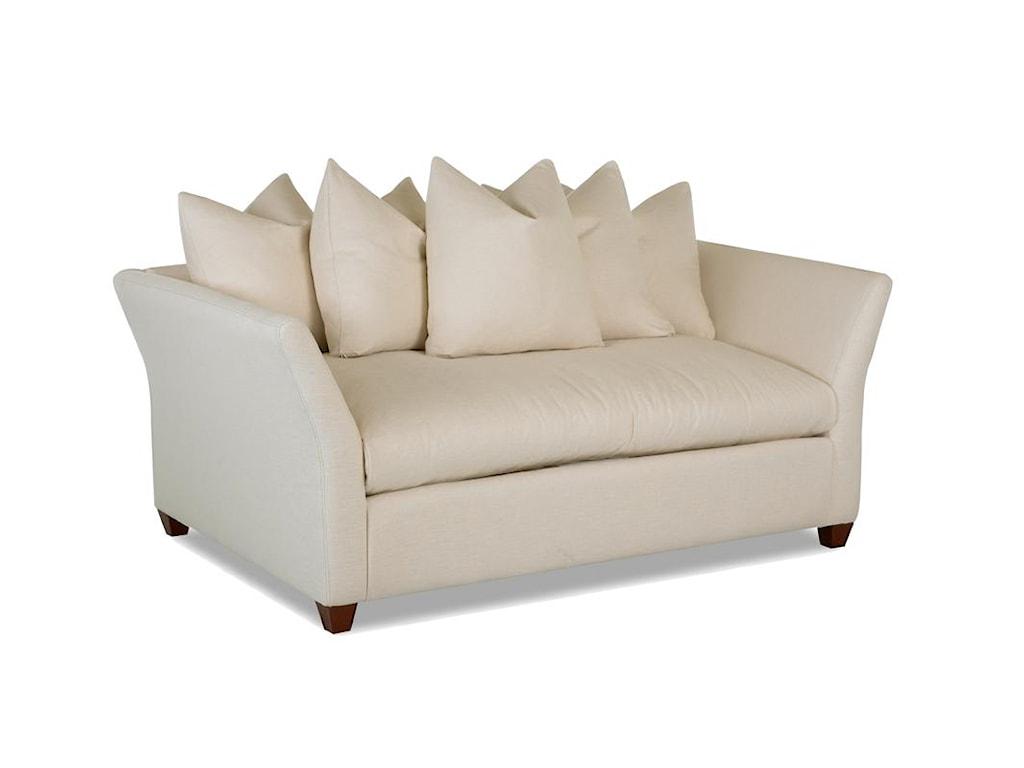 Klaussner FifiDown Blend Cushion Love Seat