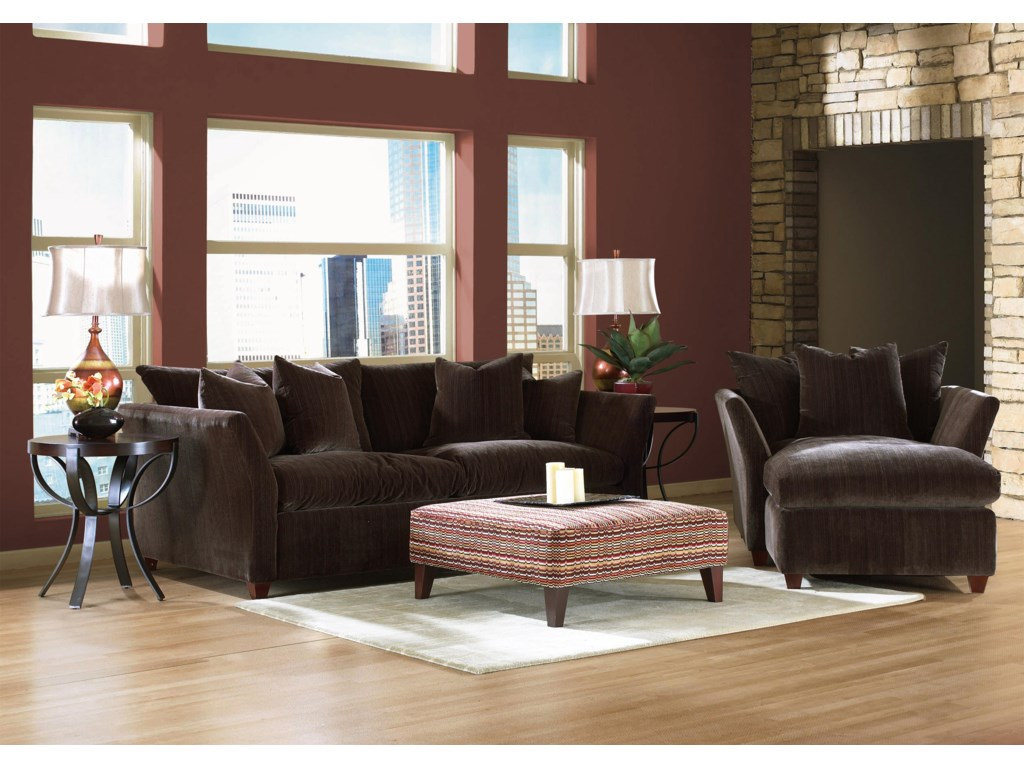 Klaussner FifiDown Blend Cushion Sofa