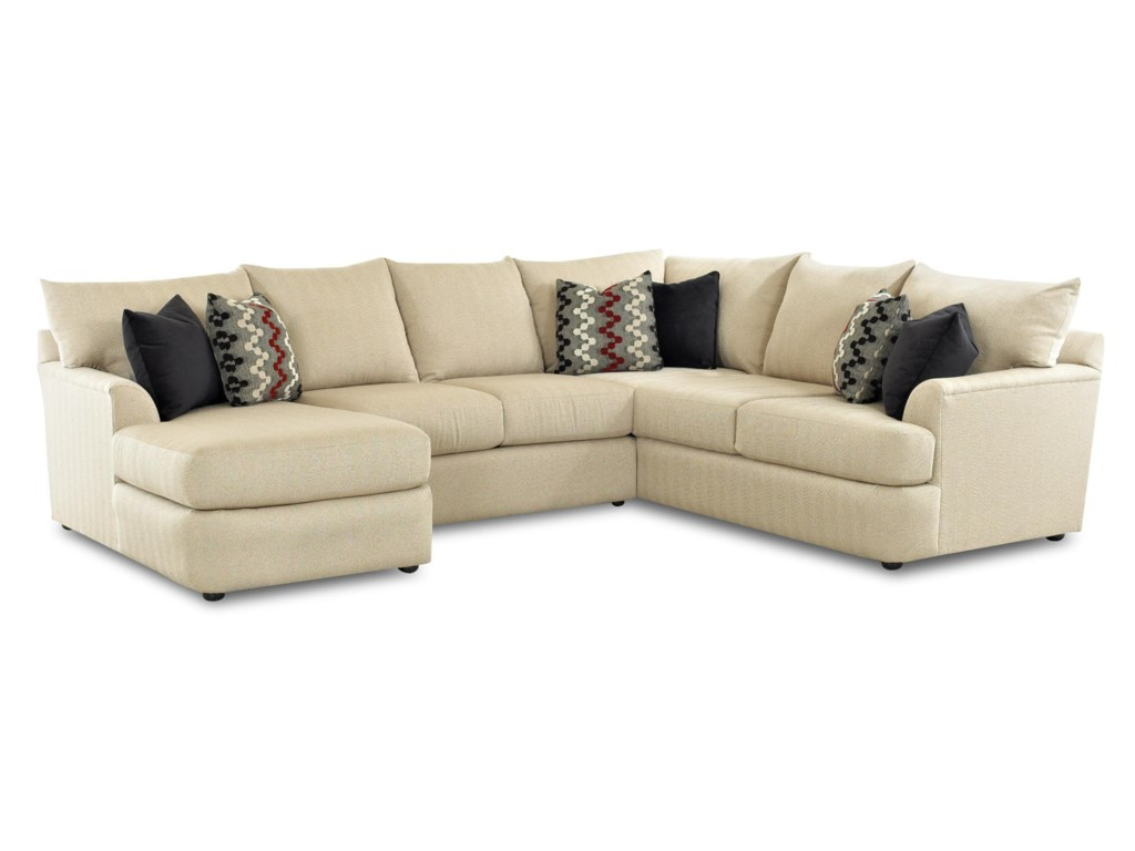 Klaussner FindleySectional Sofa