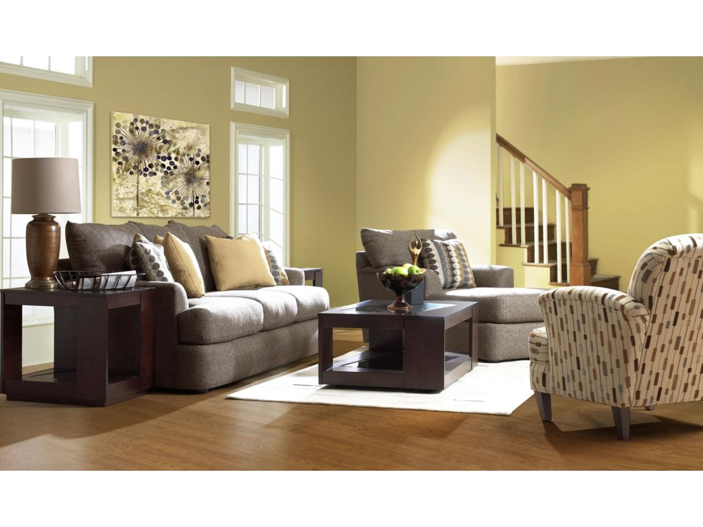 Shown with Chaise