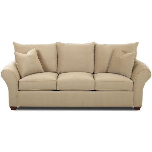 Klaussner Fletcher Air Dream Queen Sleeper Sofa