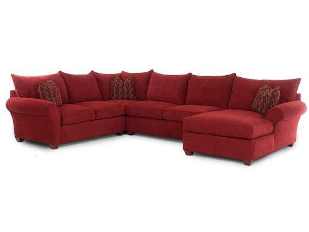 Klaussner FletcherSectional Sofa