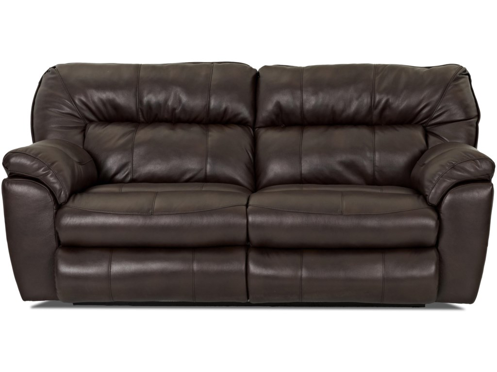 Klaussner FreemanCasual Power Reclining Love Seat