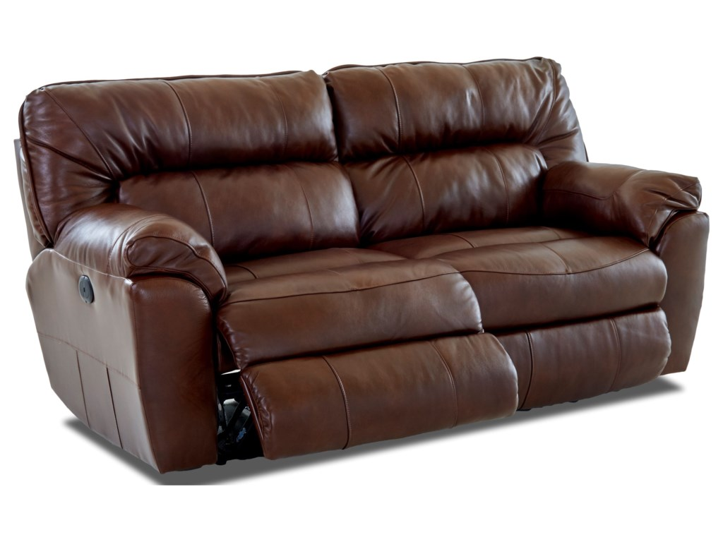 Klaussner FreemanPower 2 over 2 Reclining Sofa