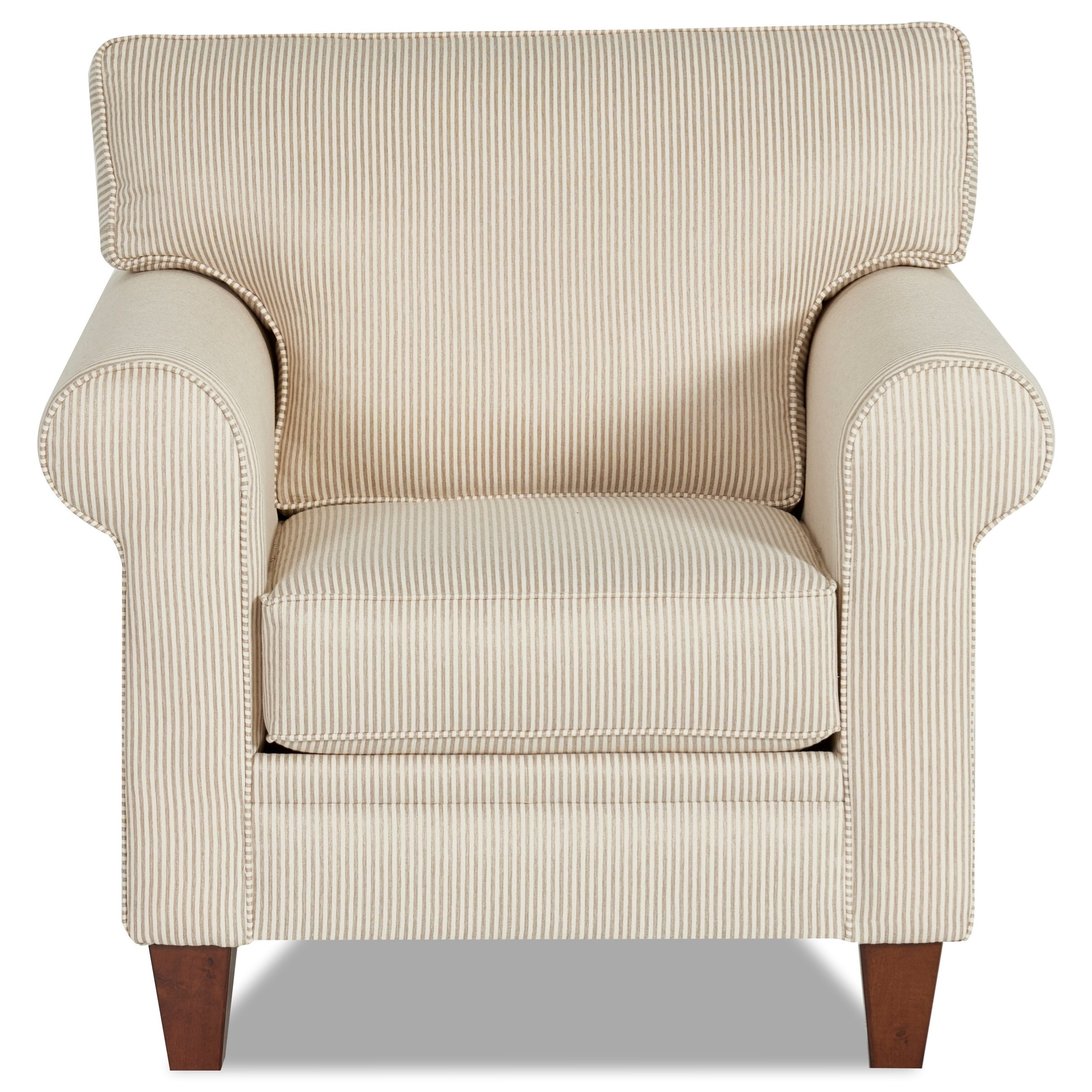 Klaussner Gates K44600 C Casual Chair | Hudsonu0027s Furniture | Upholstered  Chairs