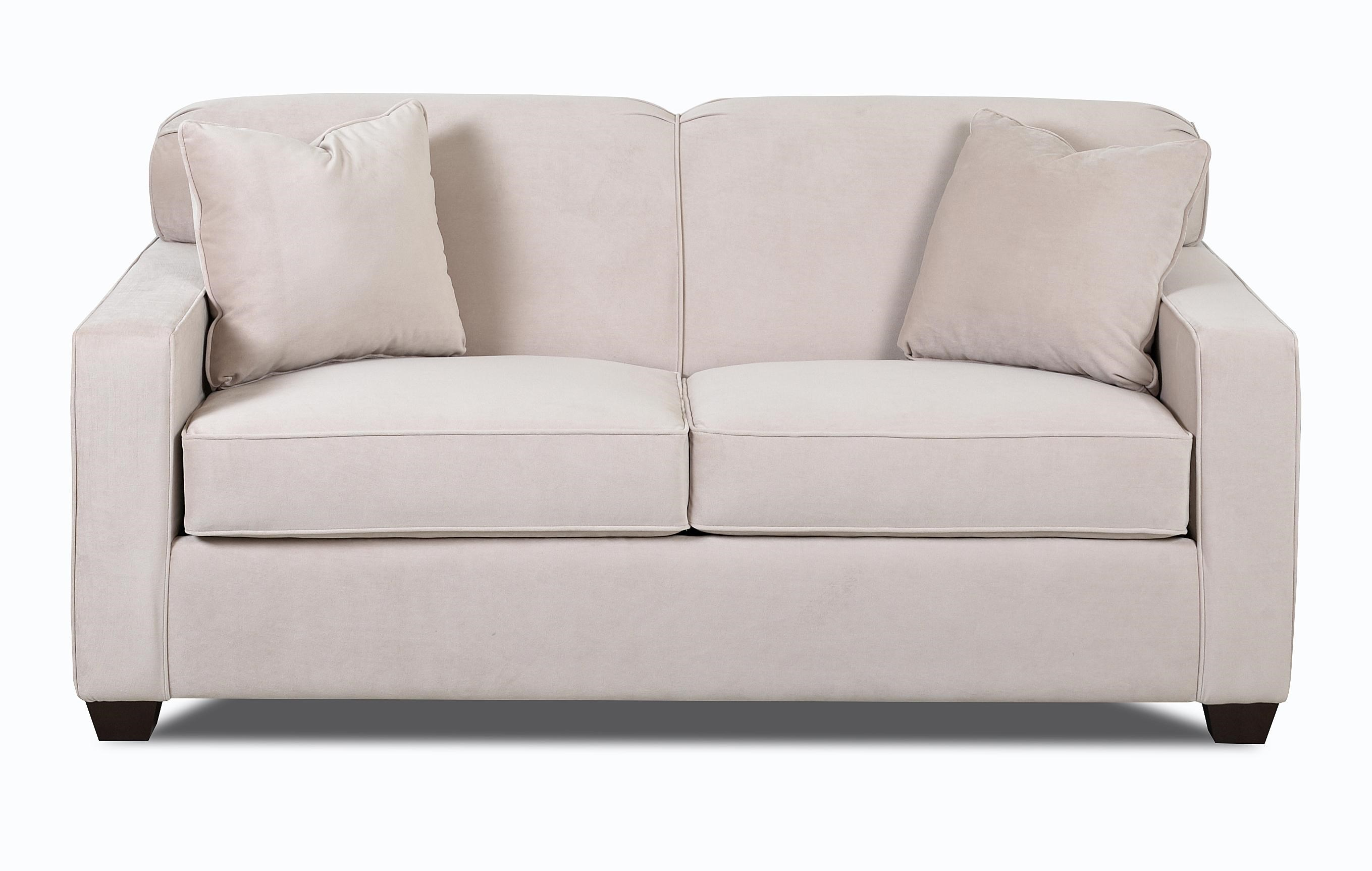 - Klaussner Gillis Regular Sleeper Sofa With Enso Memory Foam