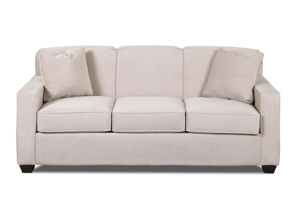 Klaussner Gillis Contemporary Innerspring Queen Sleeper Sofa ...