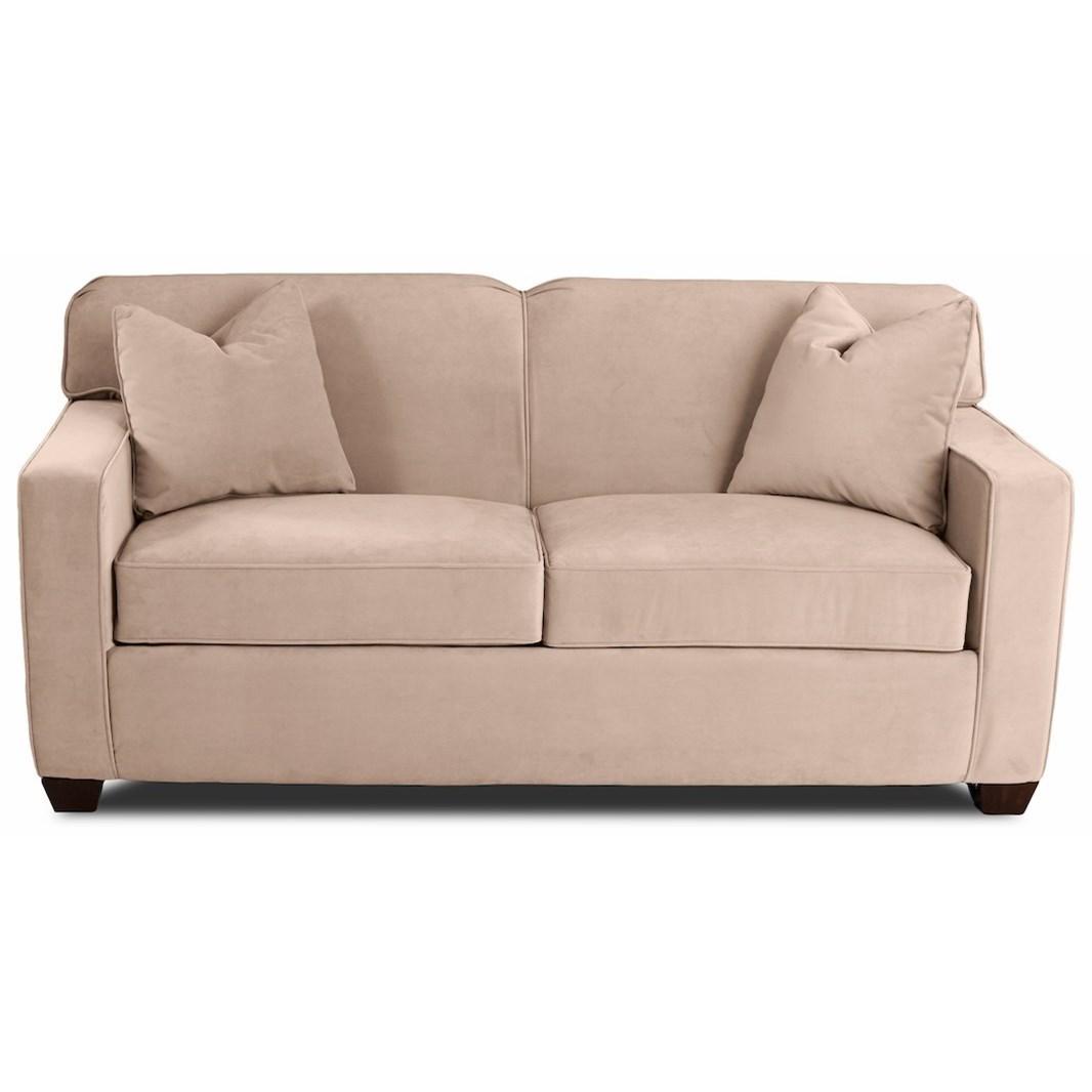 - Klaussner Gillis Regular Sleeper Sofa With Enso Memory Foam