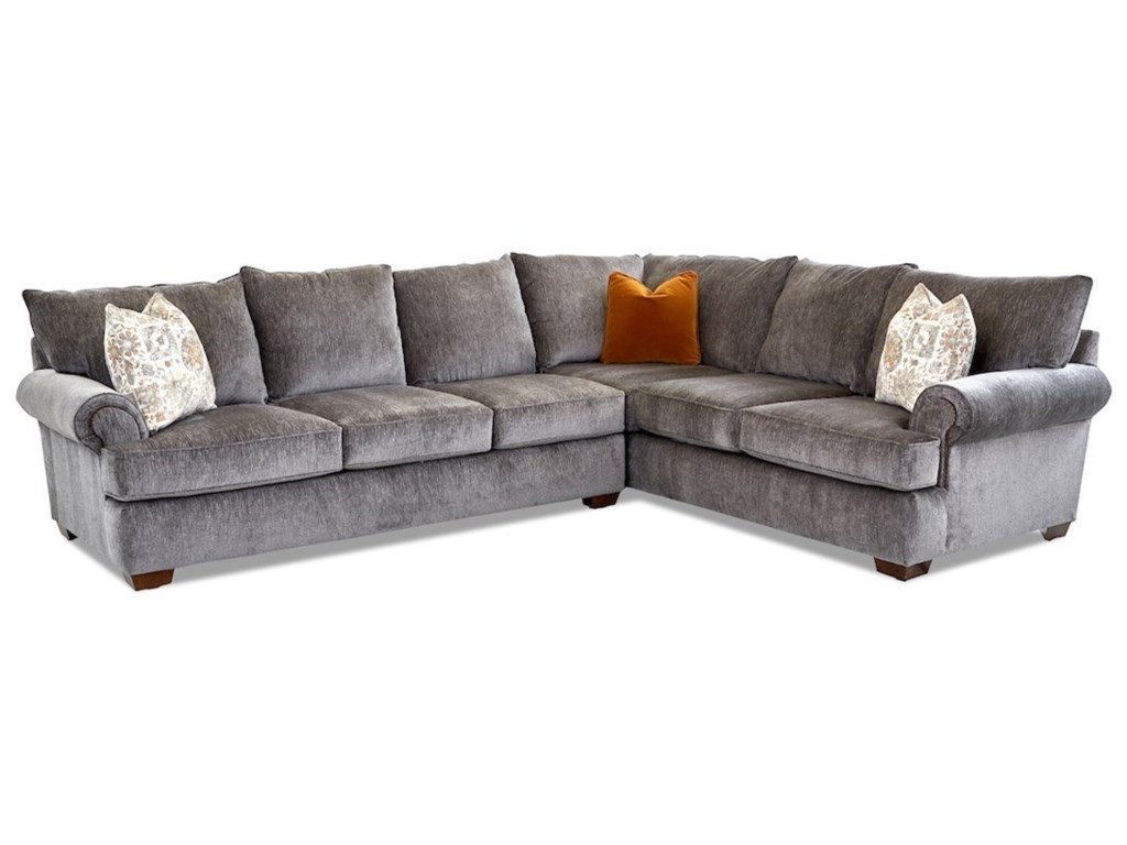 Klaussner Ginger5-Seat Sectional Sofa w/ LAF Sofa