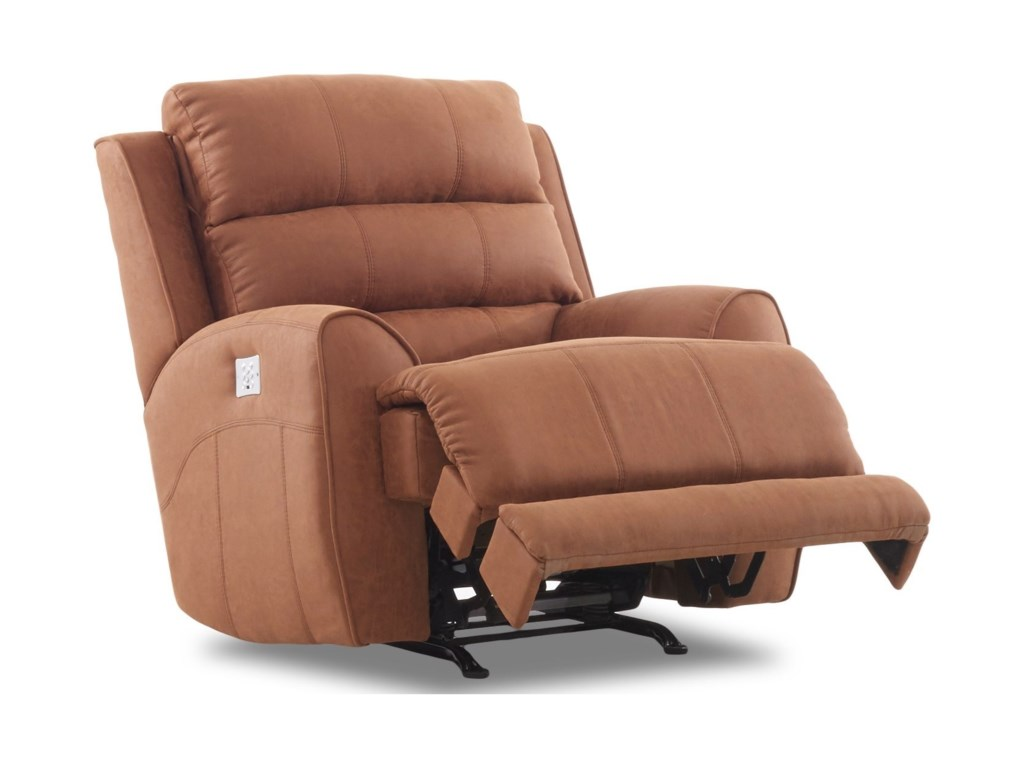 Klaussner GleesonPower Reclining Chair w/ Pwr Head/Lumb