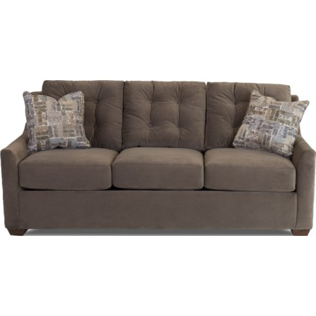 Queen Enso Memory Foam Sleeper Sofa