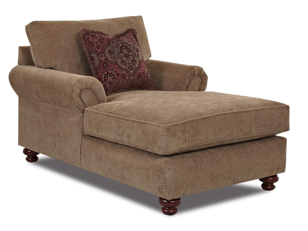 Klaussner GreenvaleTraditional Chaise Lounge