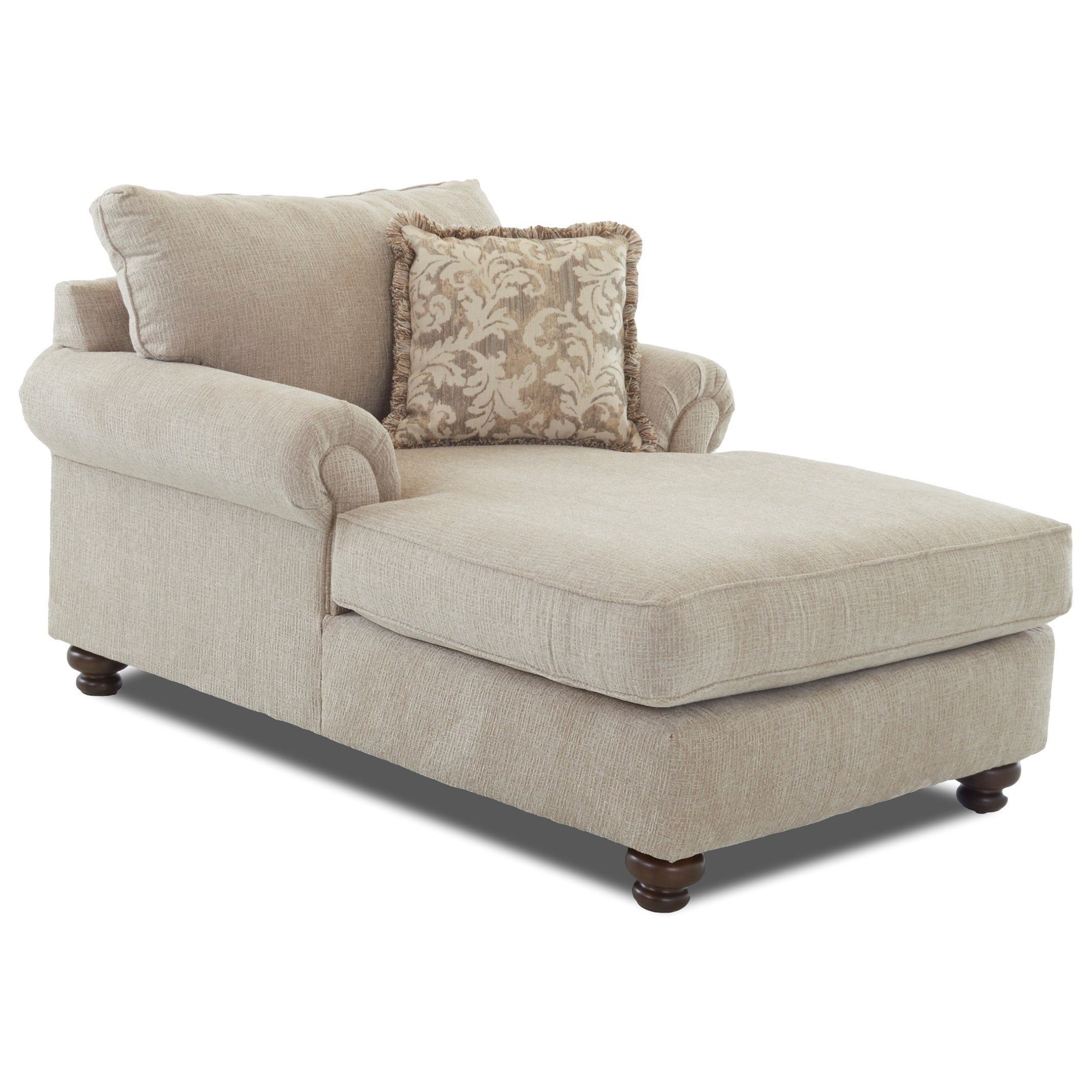 - Klaussner Greenvale Traditional Chaise Lounge Wayside Furniture