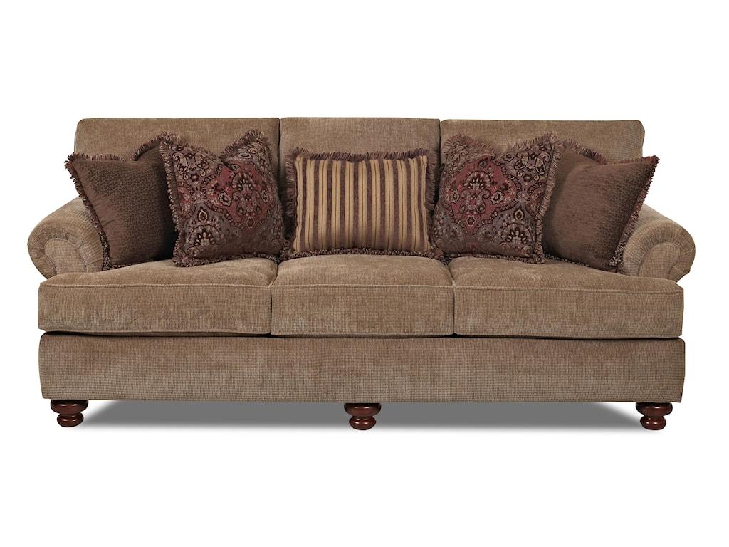 Klaussner GreenvaleTraditional Stationary Sofa