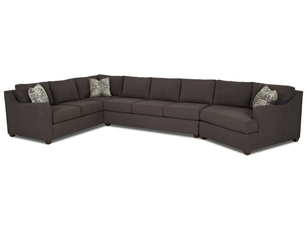 Klaussner Greer3 Piece Sectional