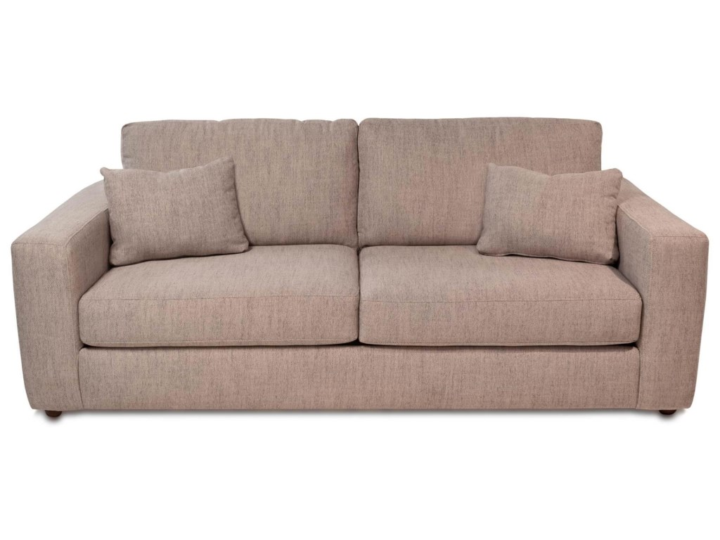 Healey Contemporary 2-Seat Sofa w/ Wide Track Arms by Simple Elegance at  Rotmans