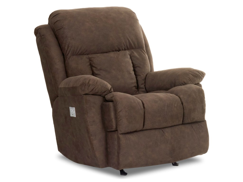Klaussner GwynnPower Rocking Reclining Chair