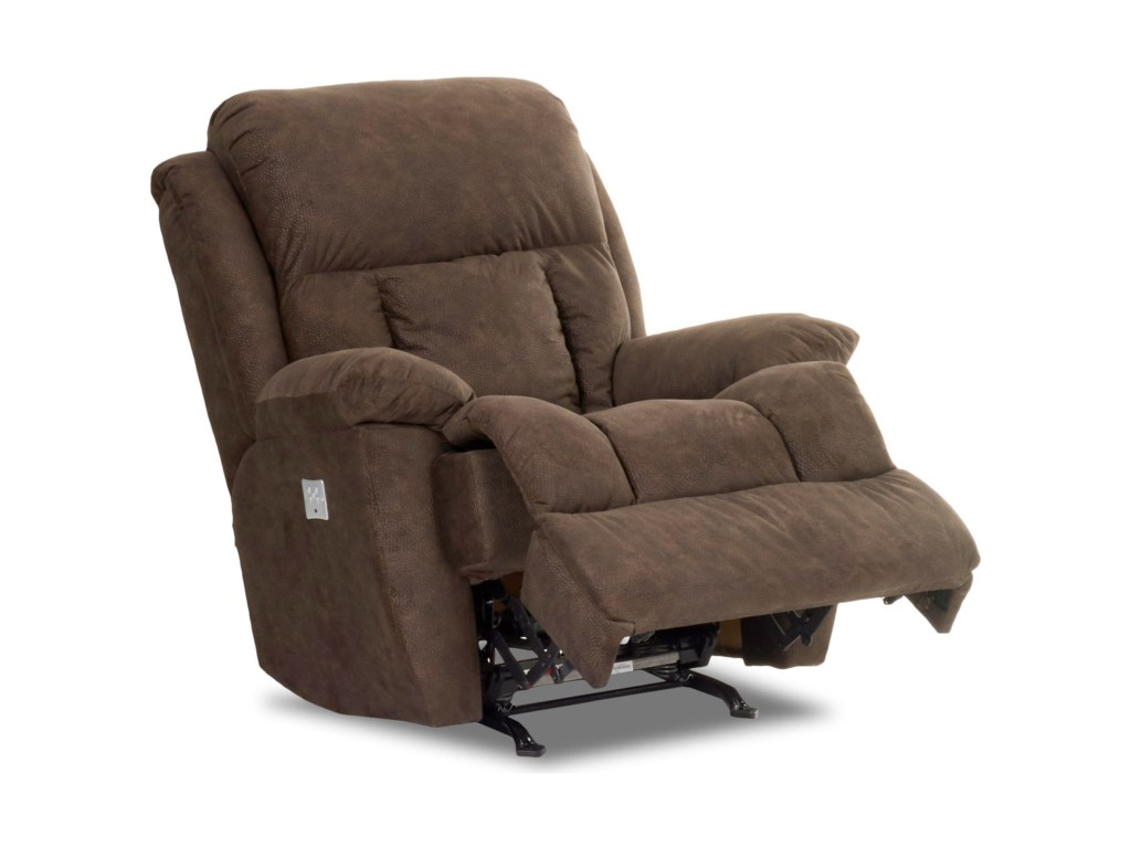 Klaussner GwynnSwivel Rocking Reclining Chair