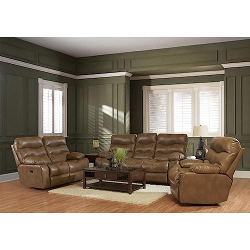Klaussner Hercules Casual Living Room Group