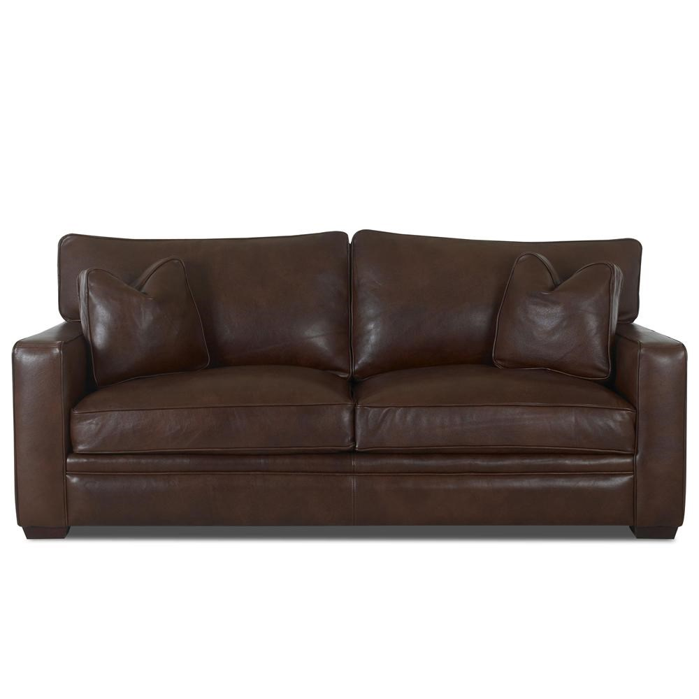 Klaussner Homestead Leather Sofa Value City Furniture Sofas