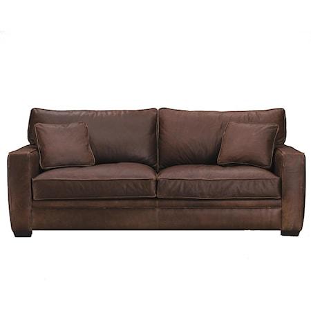 Interspring Queen Sleeper Sofa
