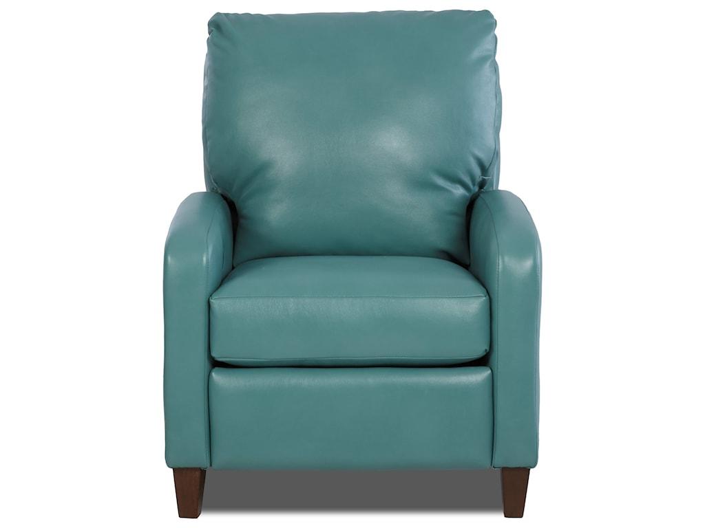 Klaussner HooverHigh Leg Recliner