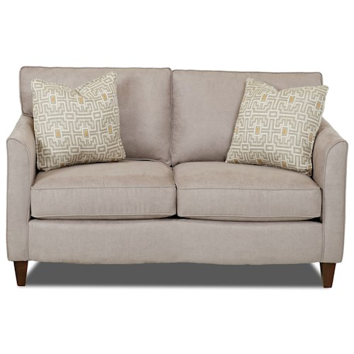 Klaussner Hopewell  Contemporary Loveseat