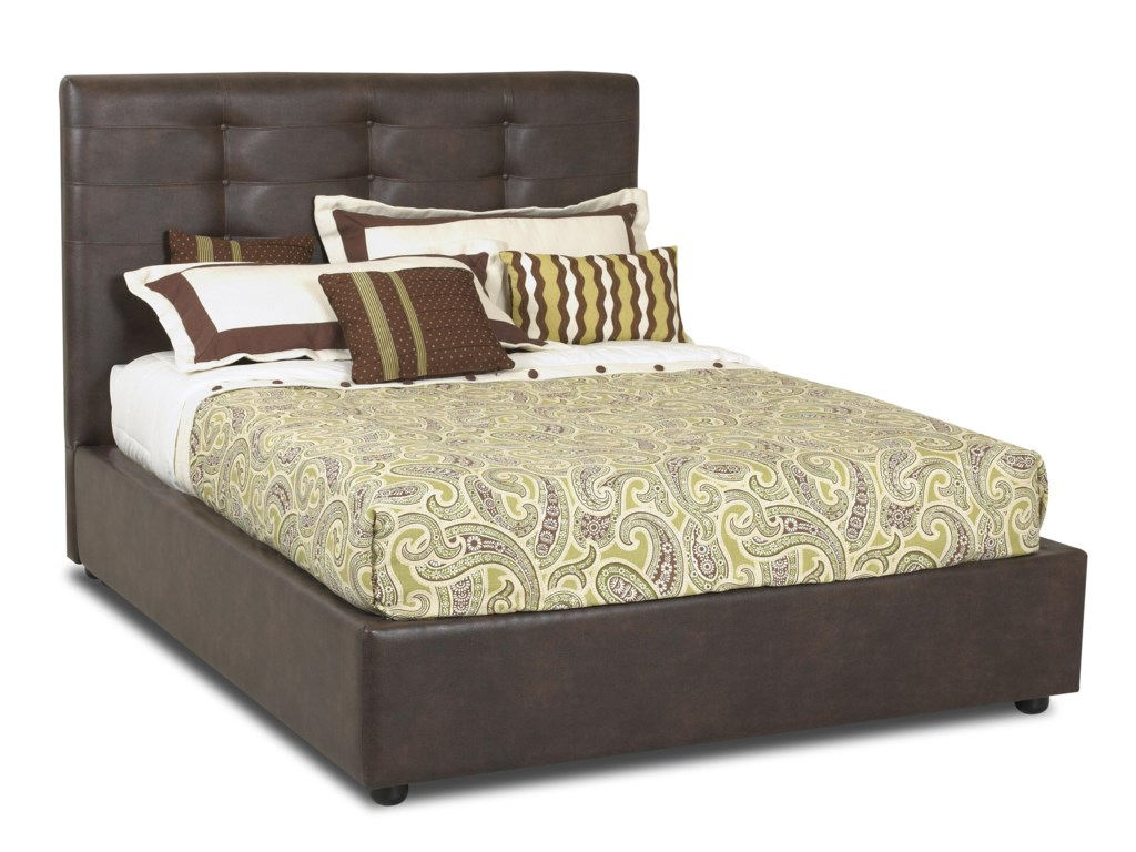 Shown as Queen Size Platform Bed