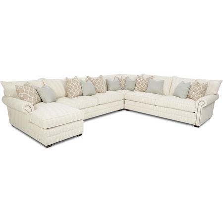 Traditional Sectional Sofa