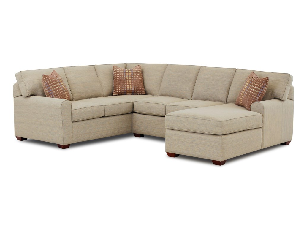 Klaussner HybridSectional Sofa
