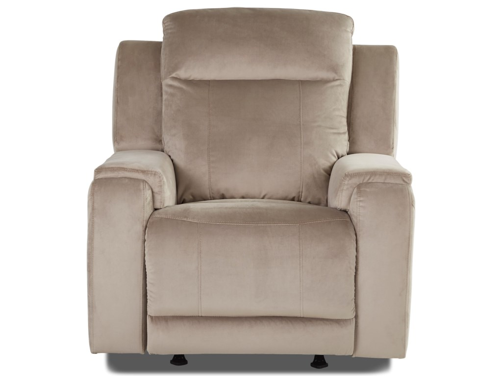 Klaussner HydraSwivel Gliding Reclining Chair
