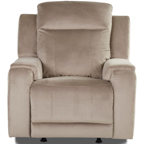 Klaussner Hydra Power Reclining Chair with Power Headrest and USB Charging Port