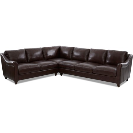 5-Seat Sectional Sofa w/ LAF Corner Sofa