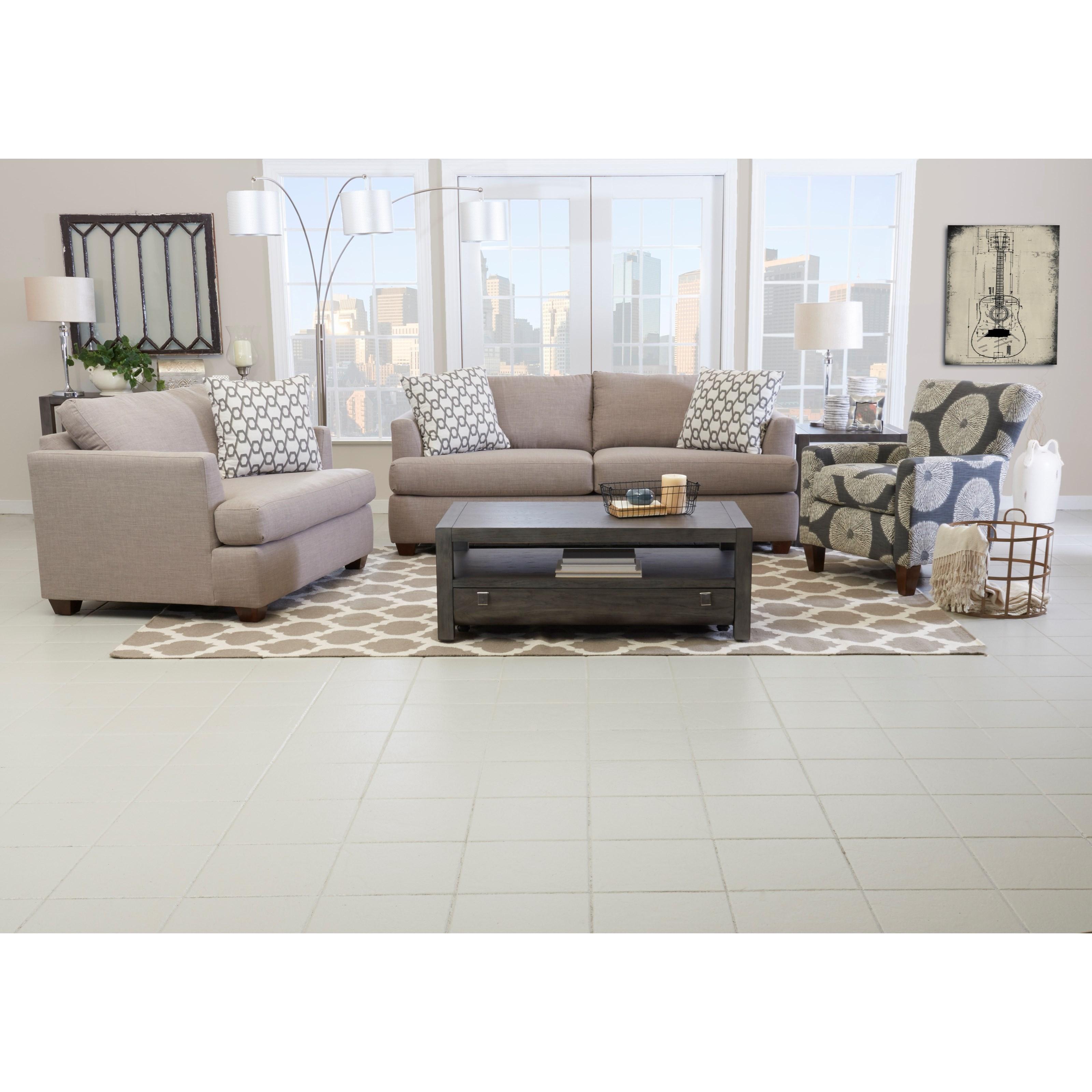 ... Klaussner JackQueen Inner Spring Sleeper Sofa