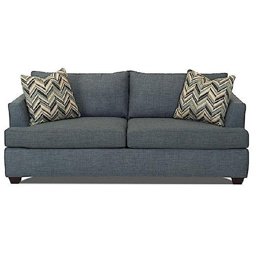 Klaussner Jack Dreamquest Queen Sleeper Sofa With Track