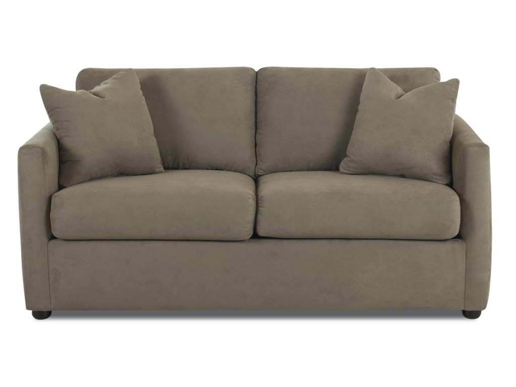 Klaussner JacobsUpholstered Stationary Sofa