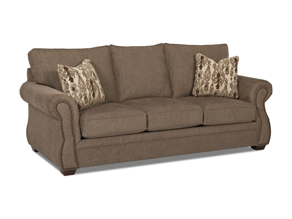 Elliston Place JasperTraditional Dreamquest Queen Sleeper Sofa