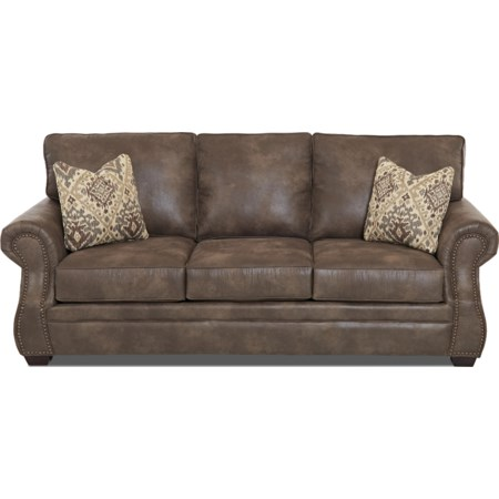 Traditional Dreamquest Queen Sleeper Sofa